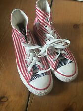 ladies limited edition stars and stripes converse