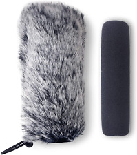 Rode VideoMic Go Furry Windscreen and Foam Cover - Rode GO Mic Camera Indoor by