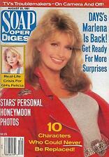 Soap Opera Digest Magazine - August 20, 1991 - Deidre Hall, Kent Masters-King