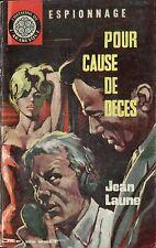 Arabesque Espionnage 248 - Jean Laune - Pour cause de... - EO 1962 - Jef de Wulf