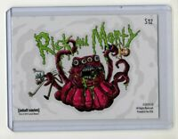 Cryptozoic Rick & Morty Season 2 Sticker Chase Card #S12 Rick and Morty Alien