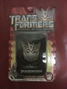 Transformers Revenge of the Fallen Playing Cards NEW MOSC