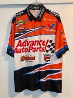 Junior Miller 15x NASCAR Modified Champ 2006 Advance Auto Parts Crew Shirt XL