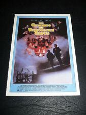 YOUNG SHERLOCK HOLMES, film card [Nicholas Rowe, Alan Cox, Sophie Ward]
