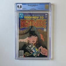 Doorway to Nightmare 1 CGC 9.0 WHITE Pages 1st Madame Xanadu 1978 JJ Abrams HBO
