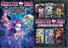 MONSTER HIGH HAUNTED + MONSTER HIGH SCAREMESTER New Sealed 2 DVD Set