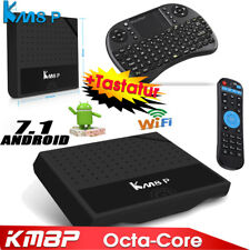 KM8P Android 7.1 TV Box + Mini Tastiera Octa Core 4K Mini PC Media Game Miracast