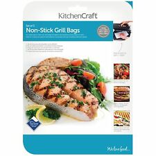 kitchencraft Set Of 3 Grilling Bags