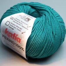 Katia Merino 100% 054 malachite green 50g (5.90 EUR pro 100 g)