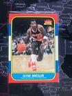 CLYDE DREXLER 1986-87 Fleer #26 ROOKIE CARD RC NRMT PORTLAND BLAZERS