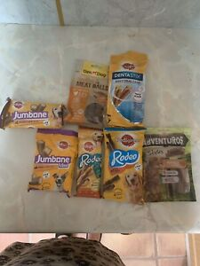 Dog Treat Mixed Bulk Bundle 19 Packs Variety Of Brands And Flavours In Bundle.