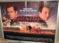 Cinema Poster: BROKEN ARROW 1996 (Main Quad) John Travolta Christian Slater