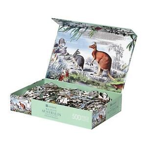 Jigsaw Puzzle Australia Wildlife Australian Animal Kangaroo Platypus 500 Piece