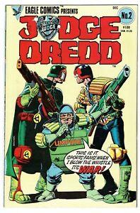 Eagle Comics - Judge Dredd - No 2 - 1983 HIGH GRADE