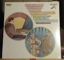 Factory sealed! Erich Leinsdorf- Boston Symphony-Prokofieff Piano Concerto #5 LP