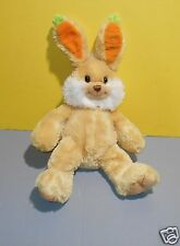 "2009 Princess Soft Toys Carrot Floppy Ears Tan Bunny Rabbit 14"" Stuffed Plush"