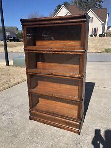 Oak Globe Wernicke Barrister Bookcase
