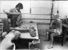 """Fabrique de mannequin, Firme Moch à Köln """"Poly-Press"""" 1990- 0001"""