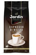 Jardin Coffee Espresso Di Milano beans dark roast Russian Italian 250g