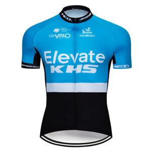 Bicycle Men's Cycling Jerseys Short Sleeve Racing Shirt Bibs Shorts Kits Outfits