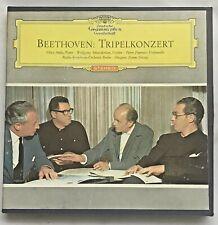 Deutsche Grammophon Beethoven Triple Concerto  Reel Tape