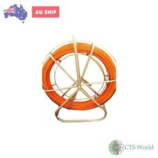 Tandem Fibre Glass Rodder Duct Fish Snake/Cable Copper Trace Wire Of 6MmX150Mt