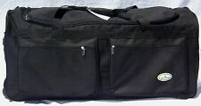 "36"" TRAVEL, GYM, ROLLER GEAR BAG /BLACK WHEEL/WHEELIE BAG"