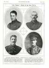 1916 Victoria Cruz para los oficiales de la Australian canadiense NCO Valour tropas Campo-K
