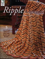Knitted Ripple Afghans Easy Gifts to Knit & Share Designs Knitting Pattern Book