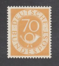GERMANY STAMP #683 — 70pf POST HORN --  1952 --  MINT