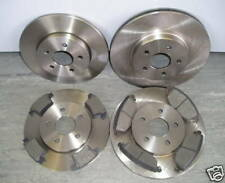 JAGUAR X TYPE FRONT AND REAR BRAKE DISCS AND PADS (2005 - 2009)