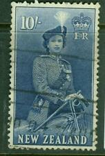 New Zealand. 1954. QEII. Definitive.10/-. U.