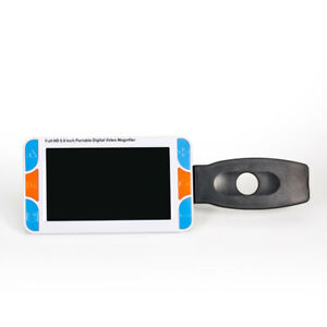 """5"""" LCD Electronic Low Vision Video Magnifier Reading aid Digital Handheld"""