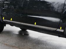 """2"""" Chrome Rocker Panel Body Moldings (8 PCS) FOR 2019 2020 FORD RANGER CREW CAB"""