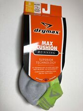 Drymax Max Cushion Running Socks No Show Womens 5-7 NEW