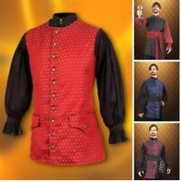 Medieval Long Pirate Vest, Ideal for Historic Theatre and Costume or LARP
