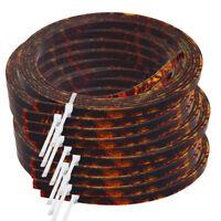 10 Pcs Acoustic Guitar Binding Purfling Strip Brown Celluloid 5mm x 1.5mm