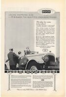 1925 Vintage Ad DuPont Duco a Thoroughbred Finish for Cars