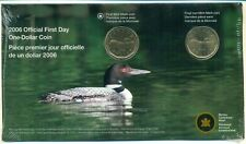 2006 First Day Strike Loon $ No L and Logo (2 coins, 1 with new Mint Mark)Sealed