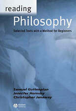 Acceptable, Reading Philosophy: Selected Texts with a method for Beginners, Gutt