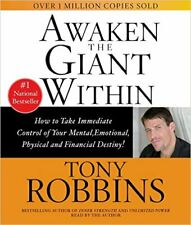 Awaken The Giant Within - Anthony Robbins -  Abridged Audiobook 2CDs