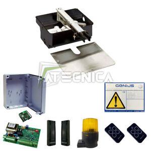 Kit Automatización Puerta Sótano faac genius Kit Roller RC 230V 1 Anta 500KG