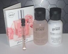 Philosophy Amazing Grace Perfume Shampoo Bath Shower Gel Body Emulsion Set New