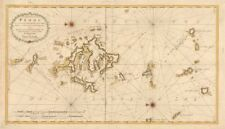 'De Eylanden van Pehou' by VAN KEULEN. Penghu Islands Taiwan. VOC chart 1753 map