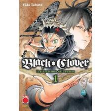 BLACK CLOVER 1 - Il giuramento del ragazzo - PLANET MANGA PANINI - NUOVO
