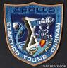 APOLLO 10 LION BROTHERS VINTAGE ORIGINAL NASA CLOTH BACK SPACE PATCH MINT ****
