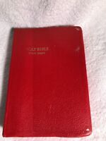 The Holy Bible Revised Standard Edition With Helps Thomas Nelson & Sons 1952