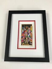 "Charles Fazzino 3D Artwork "" Baby It's Broadway "" Signed & Numbered Deluxe Ed"
