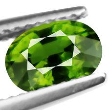1.62ct 100% Natural earth mined yellowish green color demantoid garnet russian