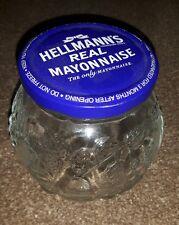 Hellmann's Mayonnaise Decorative Glass Jar and Lid